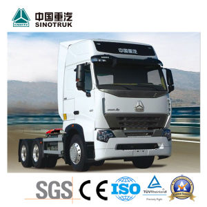 China Best Sinotruk HOWO T7h Tractor Truck for 80tons pictures & photos