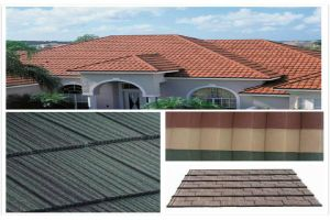 CE Certified High Quality Stone Coated Metal Roof Tile/French Roof Tile pictures & photos