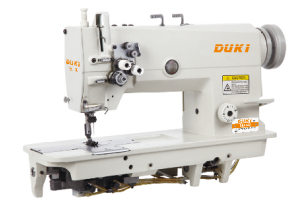 Double Needle Lockstitch Sewing Machine Dk6842 pictures & photos