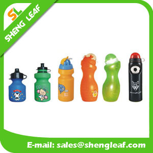The New Double Glass Candy Color Plastic Drinking Water Bottle (SLF-WB025) pictures & photos