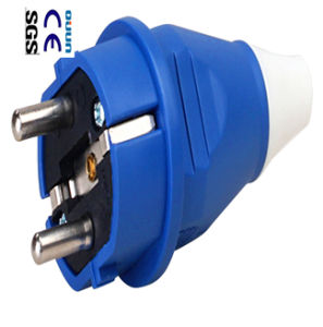 European Standard Plugs of 2p+E IP44 16A (QJ-012)