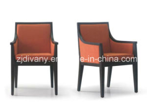 Divany Modern Styud Room Wood Leather Chair (C-51) pictures & photos