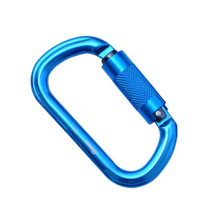Automatic Open Carabiner with 26 Kn Strength Carabiner pictures & photos