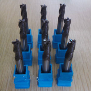 Carbide End Mills DIN 844 Three Flute Standard pictures & photos