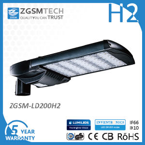 5 Years Warranty UL Dlc EMC LVD RoHS SAA IP66 Ik10 LED Street Light with Photocell pictures & photos