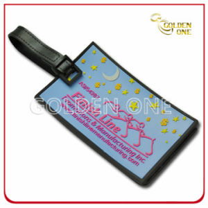 Hot Selling 3D Mold Injection Soft PVC Luggage Tag pictures & photos