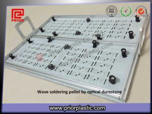 Optical Grade Durostone Wave Solder Pallet with Handlers pictures & photos
