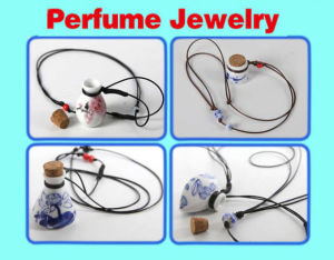 Lampwork Murano Essential Oil Bottle Pendants