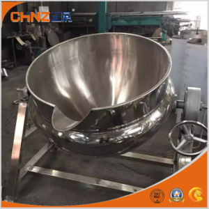 Opening Inclining Type Steam Heating Jacketed Kettle pictures & photos