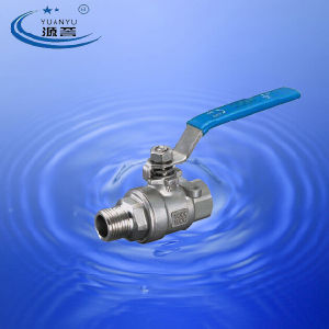 Stainless Steel Ball Valve (Male/Female) pictures & photos