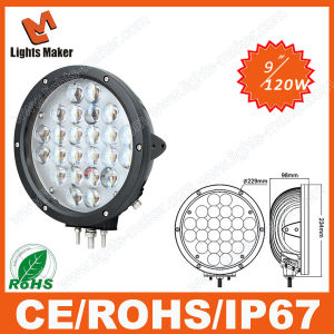 10-30V LED 4D Light 120W Car LED Magnetic LED Remote Control Work Light