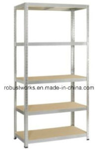 5 Tiers Galvanized Metal Rack Storage Shelf (9040-175) pictures & photos