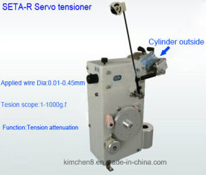 Series Servo Tensioner with Cylinder Outside (SETA-100-R) for Wire Dia (0.01-0.12) Mm pictures & photos