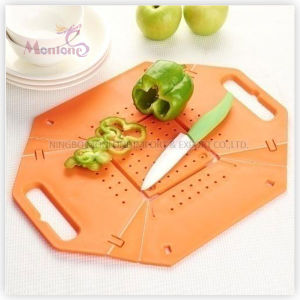 Cutting Board with Strainer pictures & photos
