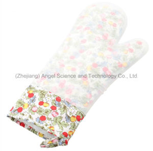 Wholesale Anti-Slid Silicone Kitchen Glove for Cooking Baking Sg20 pictures & photos