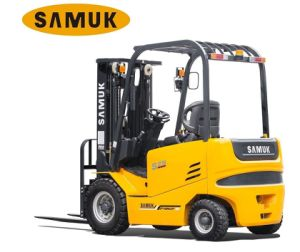 Four-Wheel Electric Forklift 1.5-3.5ton pictures & photos