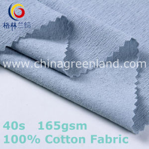 100%Cotton Dyeing Knitted Jersey Fabric for Breathable Shirt (GLLML411) pictures & photos