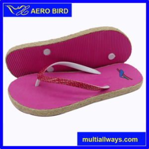 Girls New Type EVA Outsole Outdoor Flip Flops pictures & photos