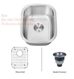 Stainless Steel Kitchen Sink, Kitchen Basin, Kitchen Tank, Under Mount Kitchen Sinks, Stainless Steel Under Mount Kitchen Bar Sink with CSA Certification pictures & photos