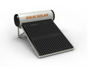 Cheap Vacuum Tube Solar Water Heater with CE Certificate pictures & photos