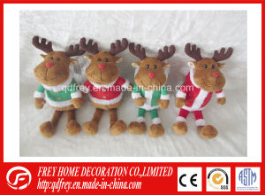 Soft Toy of Christmas Teddy Bear, Reindeer, Penguin