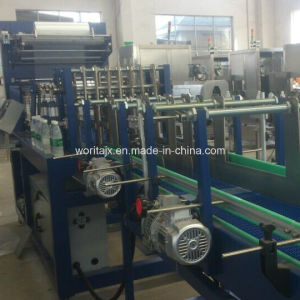 Wd-350A Straight Line Shrink Film Wrapping Machine for Beverages pictures & photos