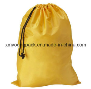 Custom Large Drawstring Waterproof Nylon Laundry Bag pictures & photos