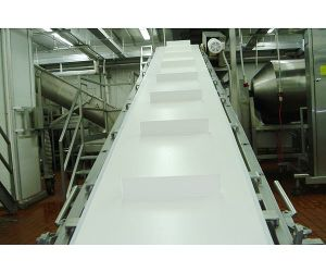 High Quality Food Grade PVC Conveyor Belt/Plastic Conveyor Belt Line pictures & photos