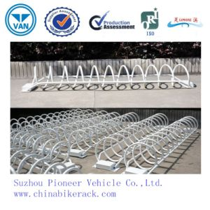 Outdoor Spiral Public Wave Bike Parking Parts/ Bicycle Racks pictures & photos