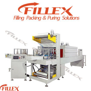 Plastic Bottle PE Film Shrink Wrapping Packing Machine pictures & photos