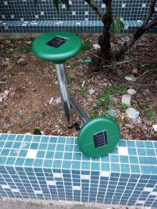 Solar Powered Outdoor Garden Yard Ultrasonic Mice Rodent Pest Repeller pictures & photos