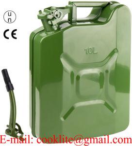 Tanica Benzina Carburante Metallo Con Travasatore / Tanica Carburante in Metallo Tipo Militare pictures & photos