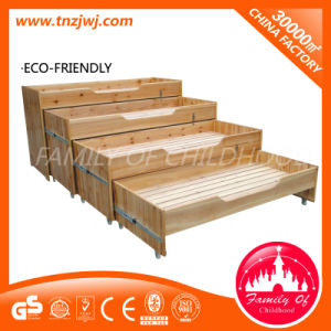 Kindergarten Four Layers Sliding Bed Wooden Classroom Furniture pictures & photos
