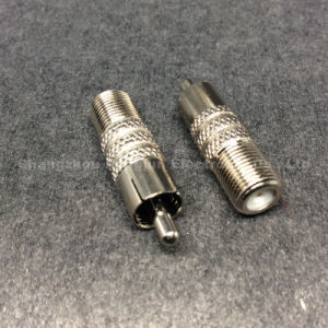 Coaxial Rg RCA BNC F Female to RCA Male Connector pictures & photos