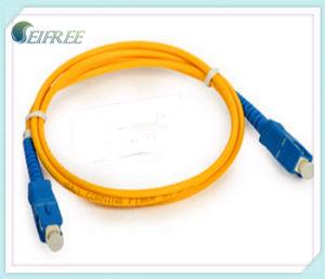 Sc-Sc Single Mode Fiber Optic Patchcord (FTTH CATV) pictures & photos