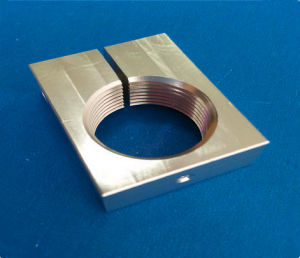 ISO High Quality Fabrication Service Aluminium Alloy Milling Part (ATC-438) pictures & photos