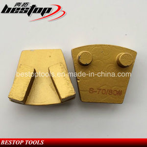 Metal Grinding Shoe Concrete Floor Trapezoid Diamond Grinding Plate pictures & photos