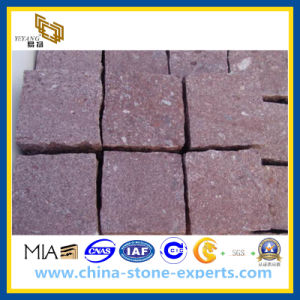 Red Porphyry Kerbstone / Cobblestone for Outside Paving (YQG-PV1009) pictures & photos