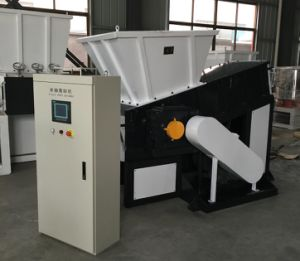 Plastic Container Shredder-01 pictures & photos