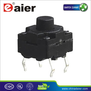 Waterproof Tact Switch Button 8X8, SMT Tact Switch (WS88-H) pictures & photos