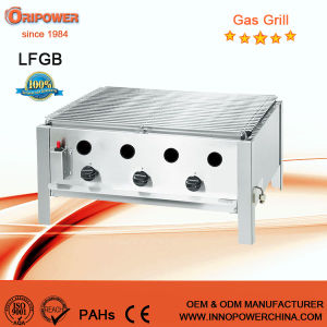 ISO 9001 Certified Stainless Steel Gas Cooking Grills pictures & photos