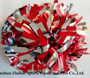 2016 Metallic Red&Silver POM Poms pictures & photos
