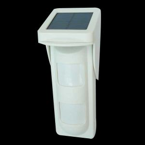Wireless Outdoor PIR Detector with Solar Panel pictures & photos