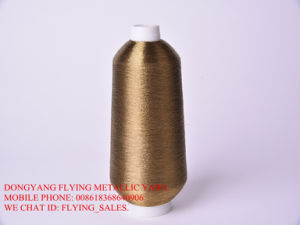 Tobacco Color Metallic Yarn for Pakistan Market.