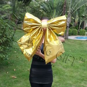 Wholesale Large Gold Gift Bow for Car (CBB-1122) pictures & photos