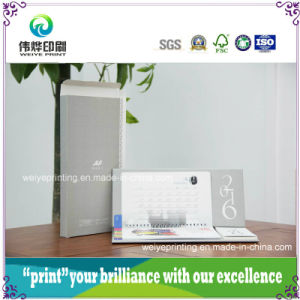 New Printing Desk Calendar with Packaging Box pictures & photos