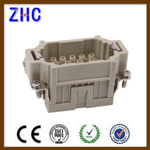 Hee Series 10 Pin to 92+ Pin Male and Female Heavy Duty Crimp Terminal Block Connector pictures & photos