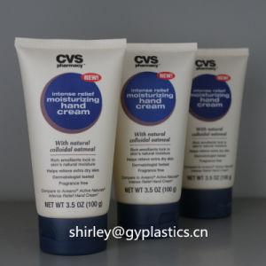 Soft Squeeze PE Plastic BPA Free Cosmetic Packaging Tube for Cosmetic pictures & photos