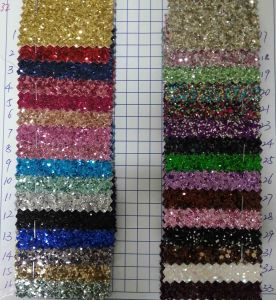 Ck-232 3D Chunky Glitter Fabric for Wallpaper pictures & photos