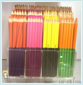 Natural Wood Colored Pencils with Double Ends